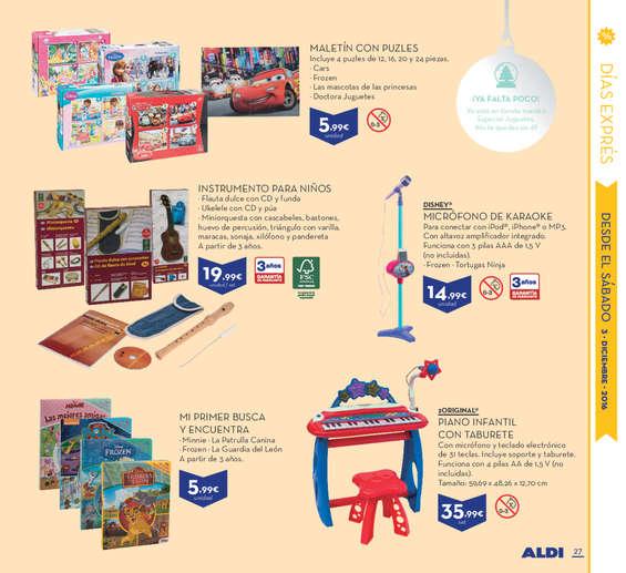 Ofertas de ALDI, Contradicciones navideñas