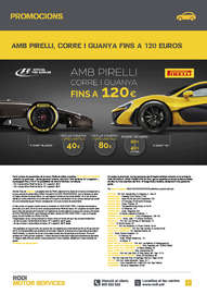 Amb Pirelli corre i guanya fins a 120€