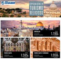 Especialistas en turismo religioso