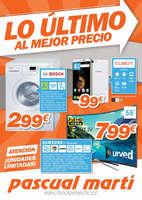 Ofertas de Pascual Martí, Lo último al mejor precio