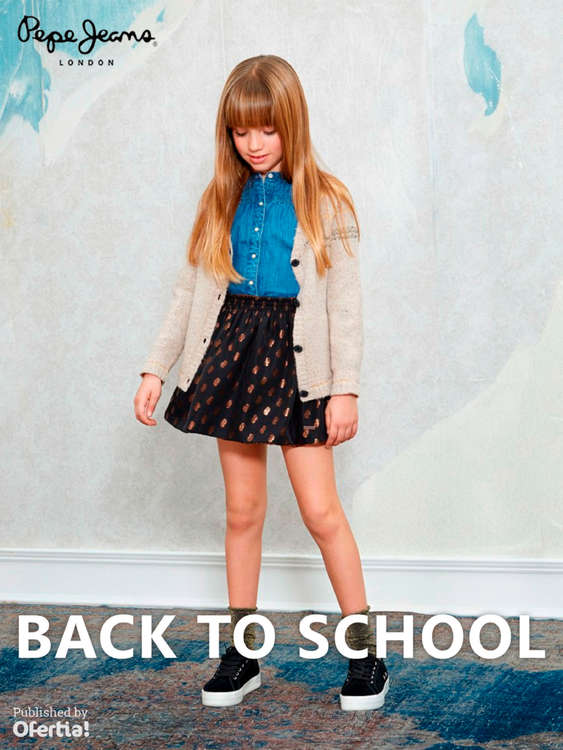 Ofertas de Pepe Jeans, Back to school