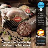 Gaudeix dels productes del Camp de Tarragona