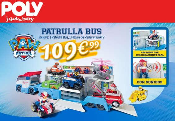 Ofertas de Poly Juguetes, Bus Patrulla Canina