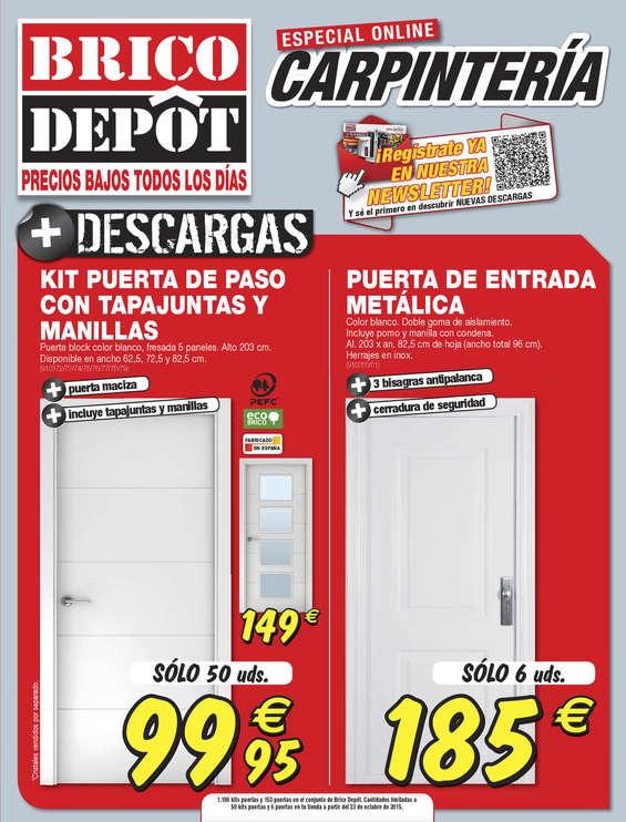Ofertas de Bricodepot, Especial carpintería - Zaragoza
