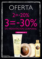 Ofertas de The Body Shop, Oferta en hidratación corporal