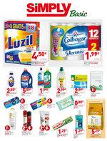Ofertas de Simply, Cientos de productos a 1€