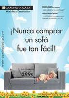 Ofertas de Camino A Casa, ¡Nunca comprar un sofá fue tan fácil!