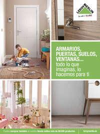 Armarios, puertas, suelos, ventanas... todo lo que imaginas, lo hacemos para ti