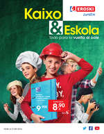 Ofertas de Eroski, Kaixo & Escola