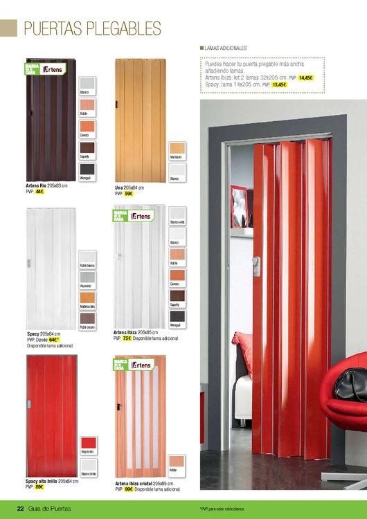 bricomart puertas plegables materiales de construcci n