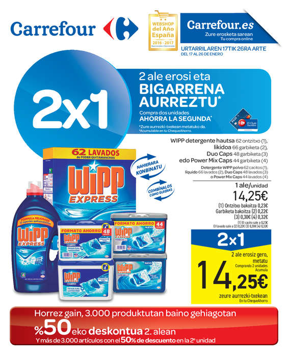 Carrefour oiartzun cat logo ofertas y folletos ofertia - Ofertia folleto carrefour ...