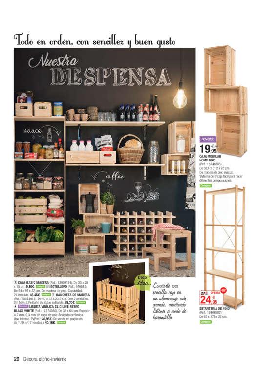 Comprar cajas de madera barato en valencia ofertia - Ofertas leroy merlin valencia ...