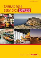 Ofertas de Dhl, Tarifas 2014 Servicios Express
