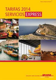 Tarifas 2014 Servicios Express