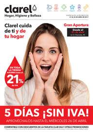 5 Días ¡Sin IVA!