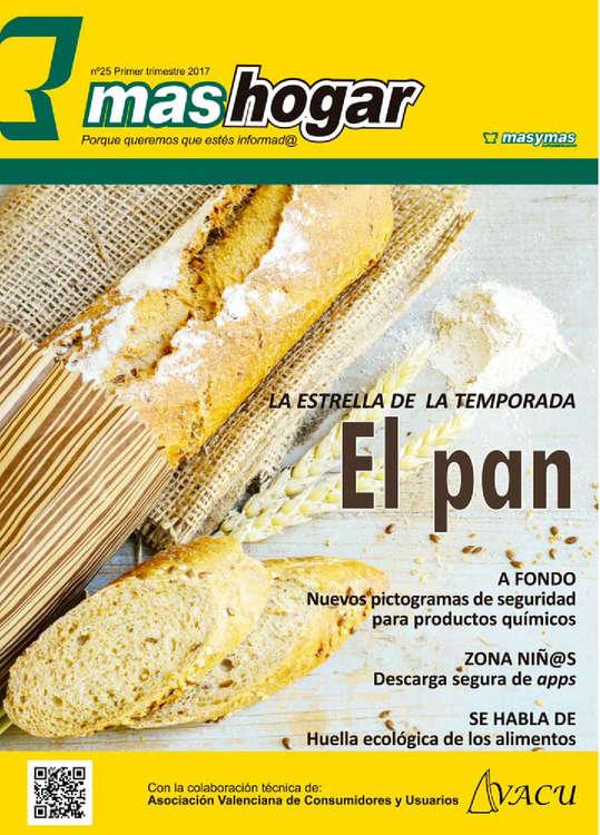 Ofertas de Masymas, El pan: la estrella de la temporada