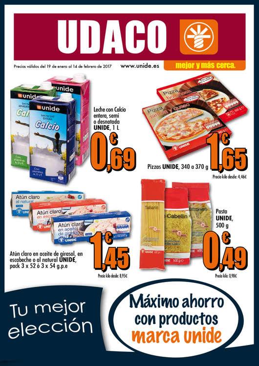 Ofertas de Supermercados Udaco, Tu mejor elección