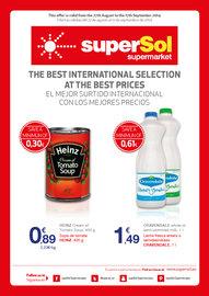 El mejor surtido internacional a los mejores precios