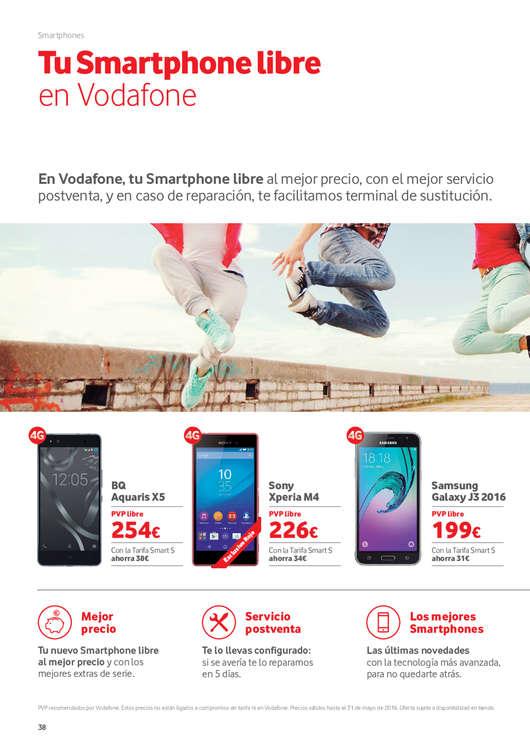 Ofertas de Vodafone, Eliminamos el Roaming en Europa y E.E.U.U.