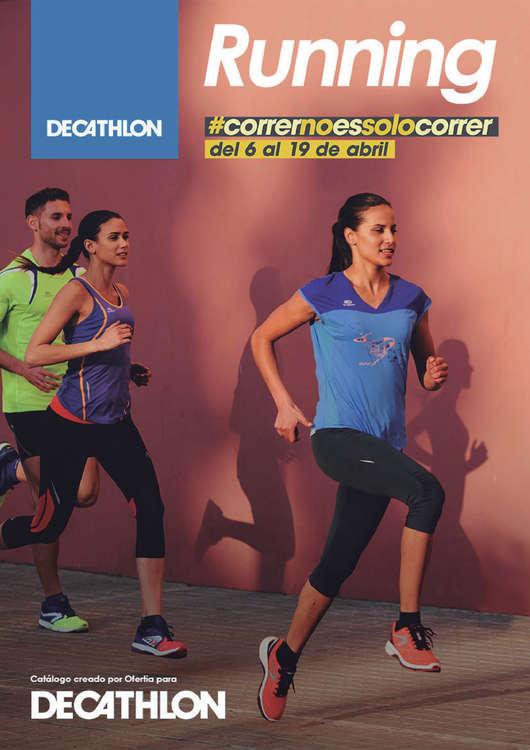 Ofertas de Decathlon, Correr no es solo correr