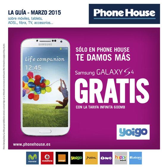 Ofertas de Phone House, Guía de marzo