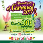 Ofertas de HiperDino, ¡Prepárate para el Carnaval 2017!