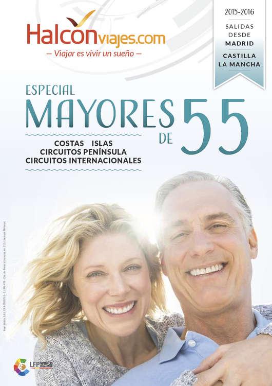 Ofertas de Halcón Viajes, Especial mayores de 55