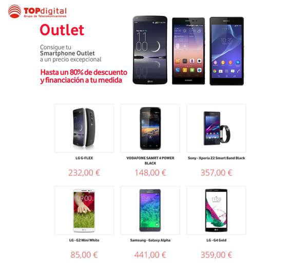 Ofertas de TOPdigital, Outlet