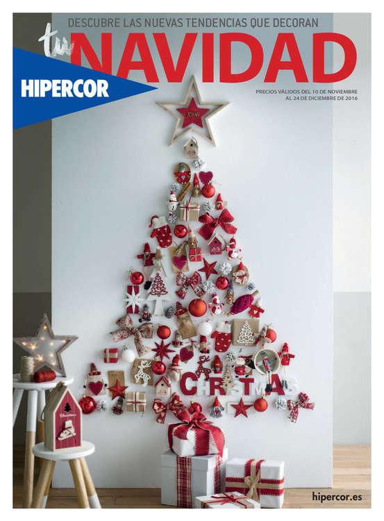Ofertas de Hipercor, Descubre las nuevas tendencias que decoran tu Navidad