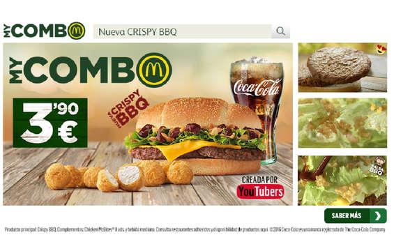 Ofertas de McDonald's, Nueva Crispy BBQ
