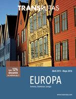 Ofertas de Transrutas, Europa 2015