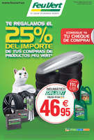 Ofertas de Feu Vert, Te regalamos el 25% del importe de tus compras de productos Feu Vert