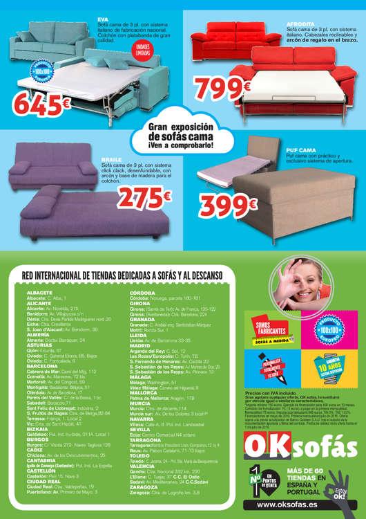 Ofertas de OKSofas, Vive la ¡Relaxmanía!
