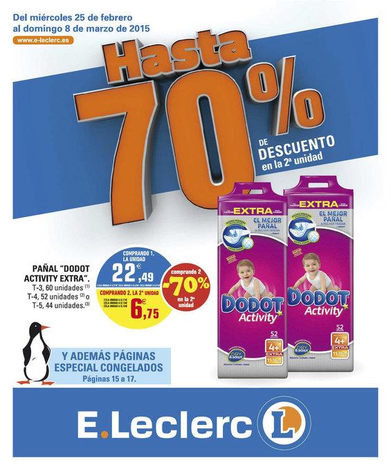 Ofertas de E. Leclerc, Hasta 70%