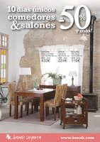 Ofertas de Banak Importa, 10 días únicos comedores & salones al -50% y más! - Barcelona