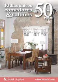 10 días únicos comedores & salones al -50% y más! - Barcelona