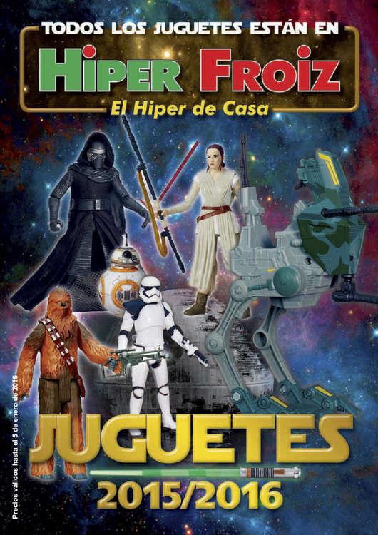 Ofertas de Hiper Froiz, Juguetes 2015/2016