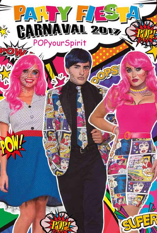 Ofertas de Party Fiesta, Carnaval 2017 - Pop your spirit