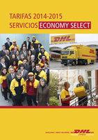 Ofertas de Dhl, Tarifa de servicios de Barcelona 2015