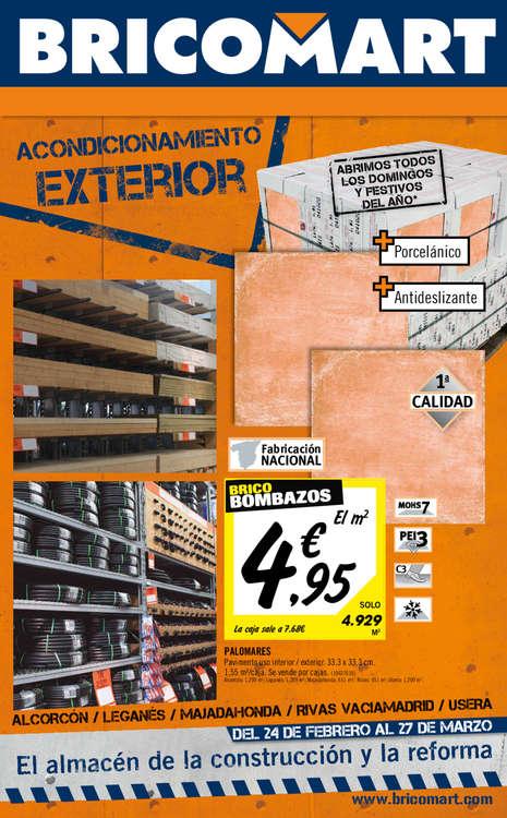 Ofertas de Bricomart, Acondicionamiento Exterior - Madrid