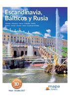 Ofertas de Linea Tours, Escandinavia, Bálticos y Rúsia 2017