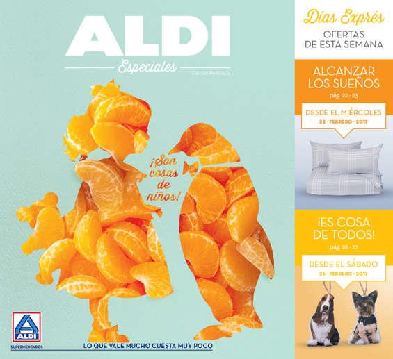 Ofertas de ALDI, ¡Son cosas de niños!