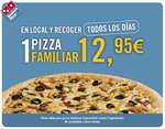 Ofertas de Domino's Pizza, Familiar