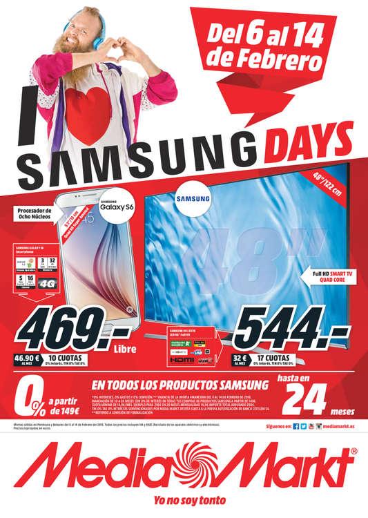 Ofertas de Media Markt, Samsung Days - A Coruña