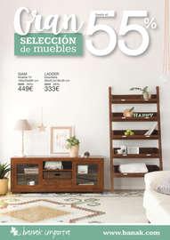 Gran selección de muebles hasta el 55% - Zaragoza