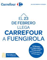 El 23 de Febrero llega Carrefour a Fuengirola