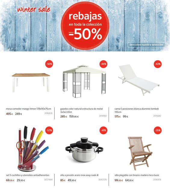 Ofertas de Casa Viva, Winter sale