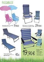 Ofertas de HiperCor, Terraza, jardín, playa y piscina