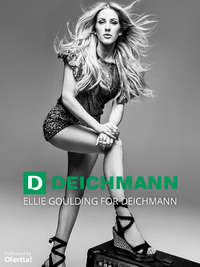 Ellie Goulding for Deichmann