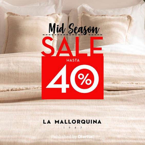 Ofertas de La Mallorquina, Mid Season Sale